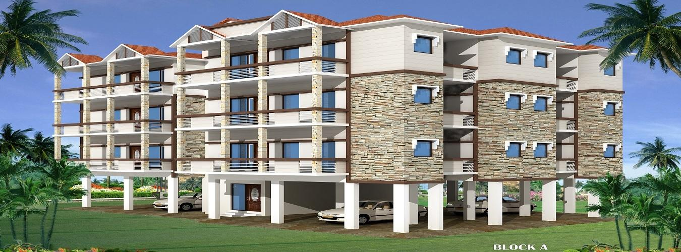 Manglam Aqua Grandiosa in Arpora. New Residential Projects for Buy in Arpora hindustanproperty.com.