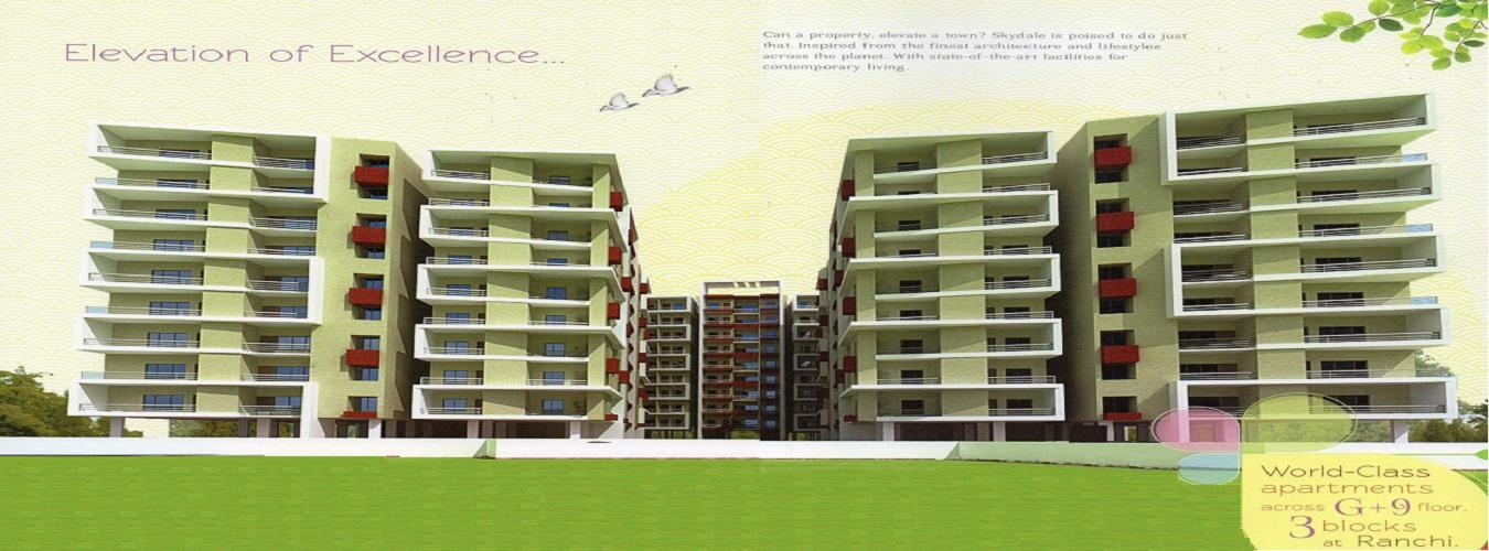 Skydale in Morabadi. New Residential Projects for Buy in Morabadi hindustanproperty.com.