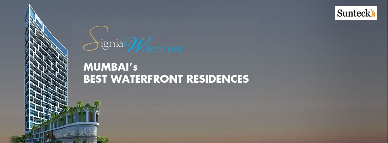 Signia Waterfront in Airoli. New Residential Projects for Buy in Airoli hindustanproperty.com.
