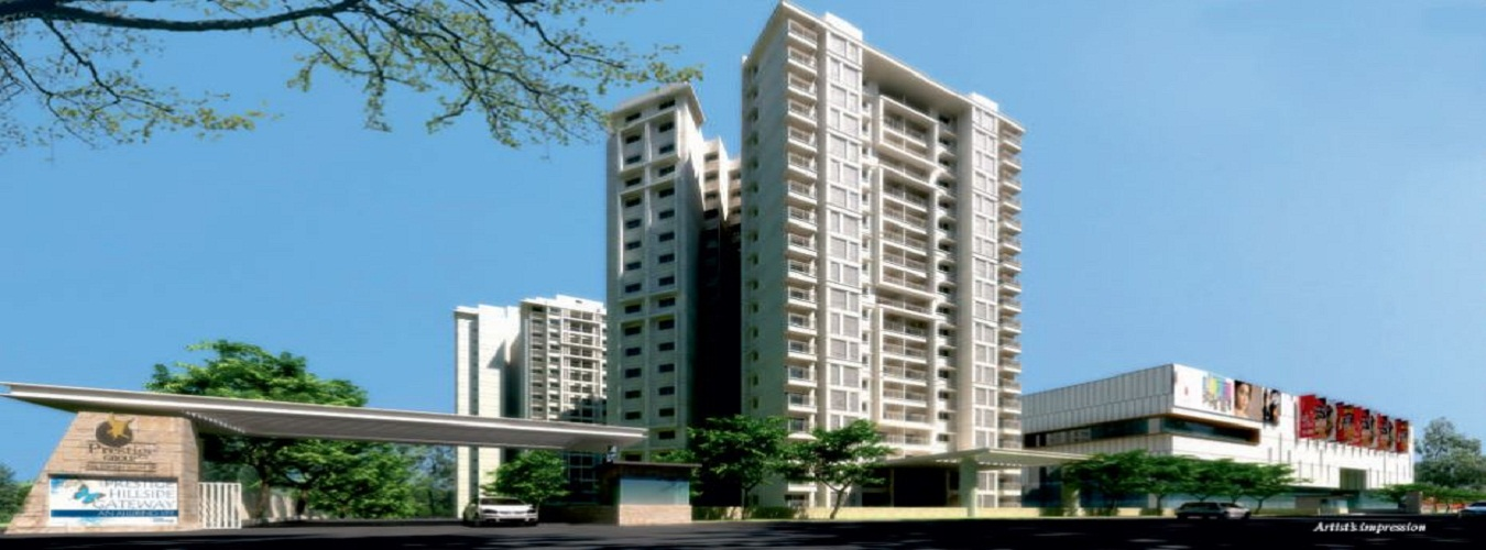 Prestige Hillside Gateway in Kakkanad. New Residential Projects for Buy in Kakkanad hindustanproperty.com.