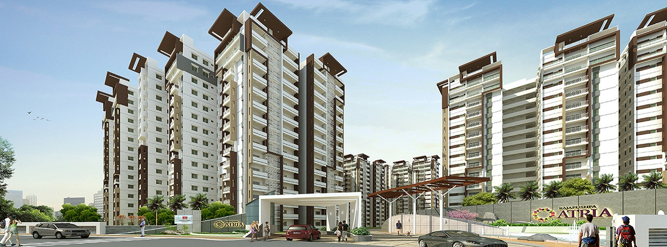 Rajapushpa Atria in Gachibowli. New Residential Projects for Buy in Gachibowli hindustanproperty.com.