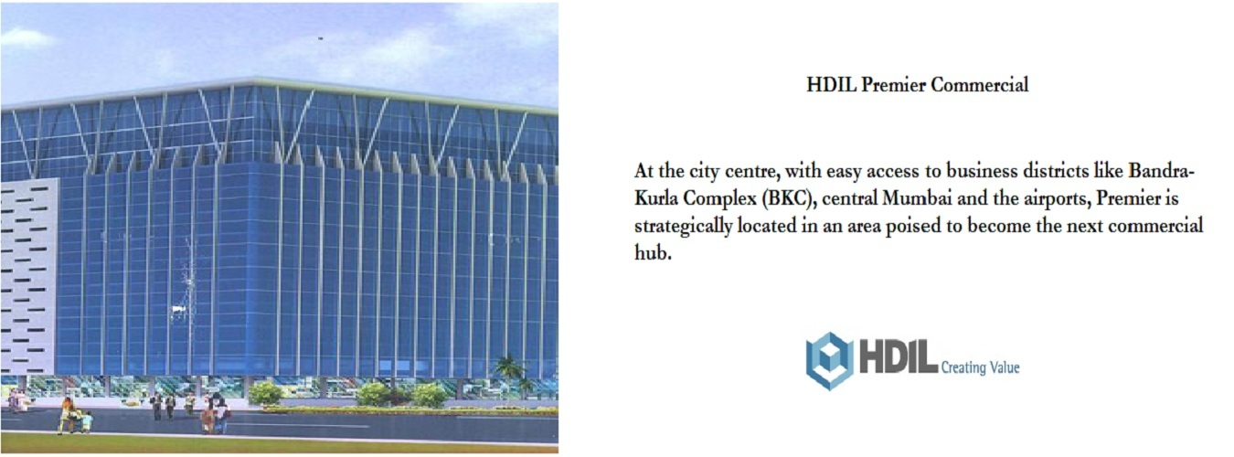 HDIL Premier in Kurla West. New Commercial Projects for Buy in Kurla West hindustanproperty.com.