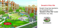 devashris pinto ville, devashri real estate developers