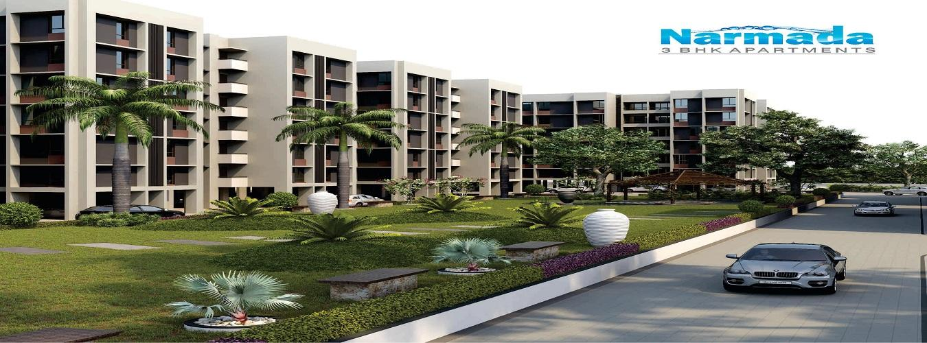 Aakriti Aquacity Narmada in Hoshangabad Road. New Residential Projects for Buy in Hoshangabad Road hindustanproperty.com.