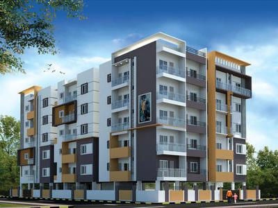 residential apartment, bangalore, haralur road, image