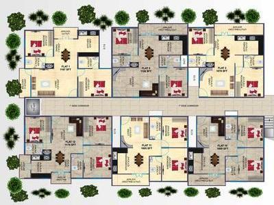 residential apartment, bangalore, old madras road, image