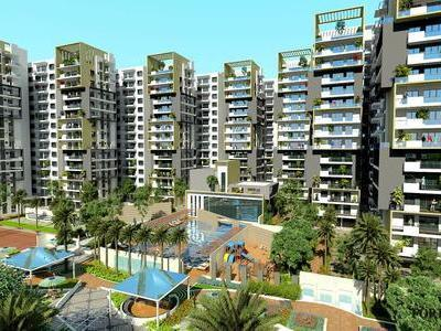residential apartment, bangalore, yelahanka new town, image