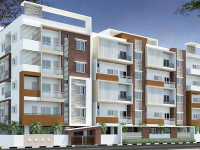 residential apartment, bangalore, bellary road, image