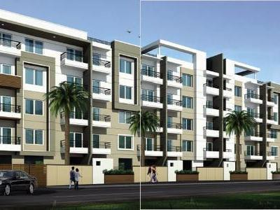 residential apartment, bangalore, ms palya, image