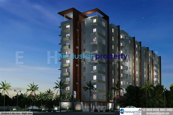 residential apartment, bangalore, chandapura anekal road, image
