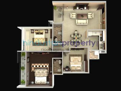 residential apartment, bhopal, misroad, image