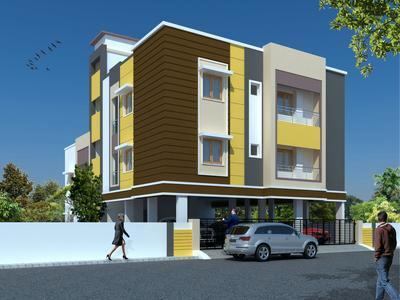 residential apartment, chennai, chromepet, image