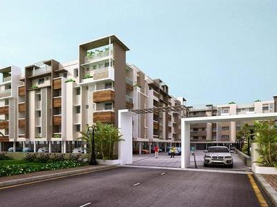 residential apartment, chennai, thiruvallur road, image