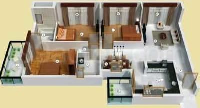 residential apartment, delhi-ncr, sector-59, image