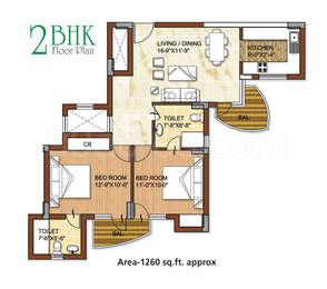 residential apartment, delhi-ncr, sector-73, image
