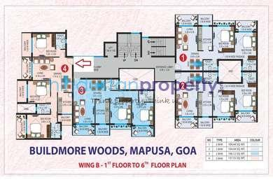 residential apartment, goa, aldona, image