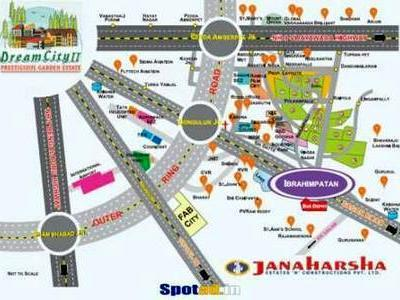 residential land, hyderabad, ibrahimpatnam, image
