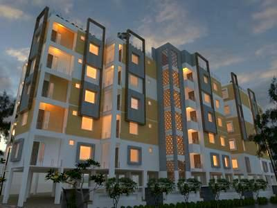 residential apartment, hyderabad, lalapet, image