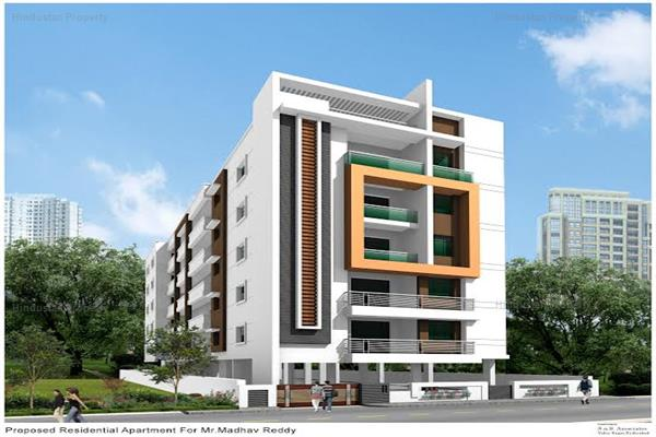 residential apartment, hyderabad, sri nagar colony, image