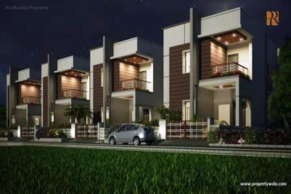 house / villa, hyderabad, bachupally, image
