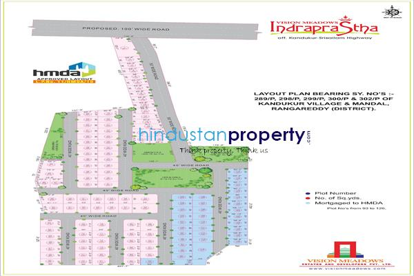 residential land, hyderabad, kandukur, image