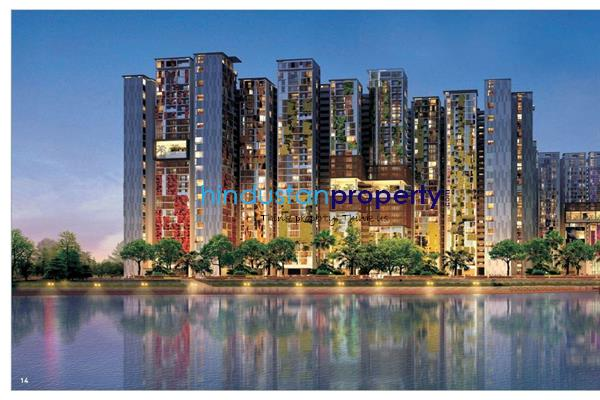 residential apartment, hyderabad, gachibowli, image