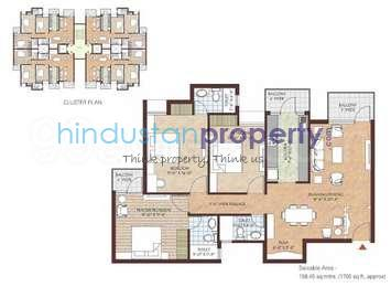 residential apartment, indore, vijay nagar, image