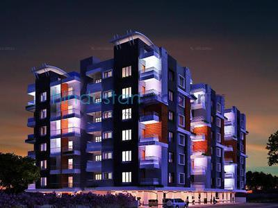 residential apartment, indore, niranjanpur, image