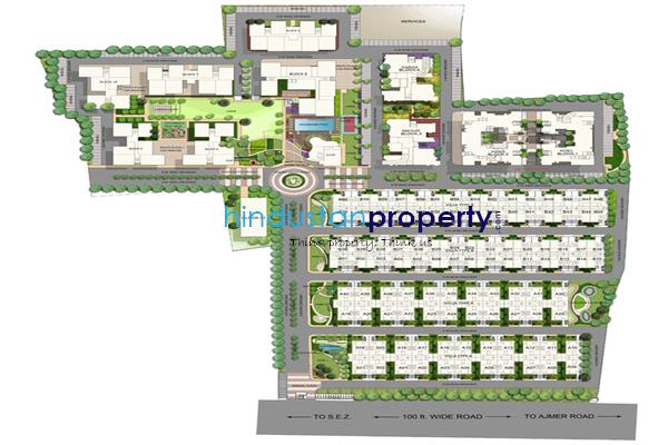 residential apartment, jaipur, ajmer road, image