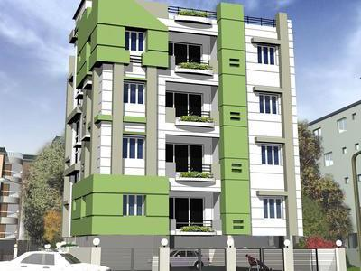 residential apartment, kolkata, hazra road, image