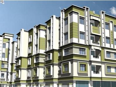 residential apartment, kolkata, chandannagar, image