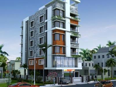residential apartment, kolkata, lake market, image