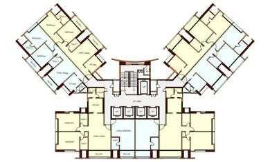 residential apartment, mumbai, upper parel, image