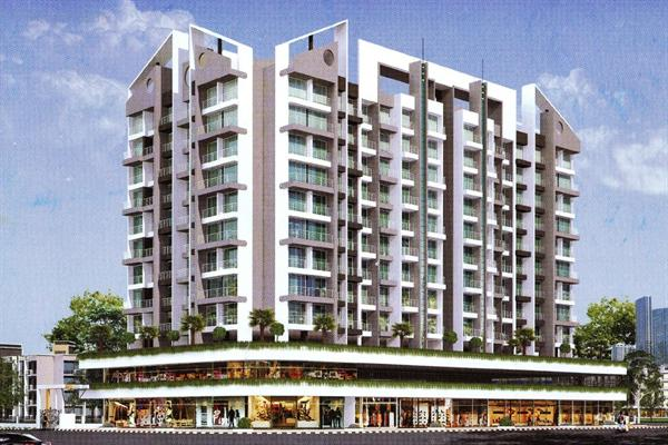 flat / apartment, navi mumbai, khanda colony panvel, image