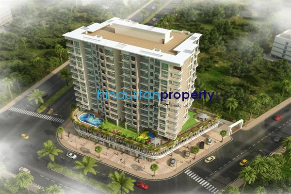 residential apartment, navi mumbai, khanda colony, image