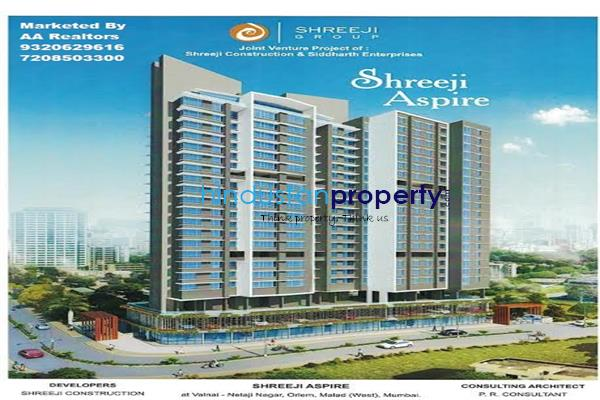 residential apartment, mumbai, orlem malad west, image
