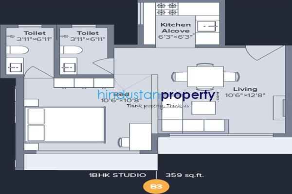 residential apartment, thane, dombivli east, image