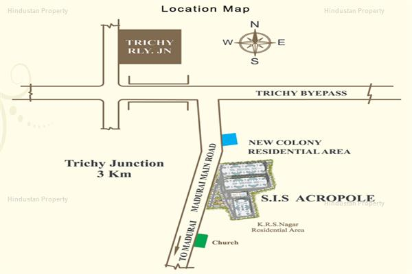 2 BHK , Trichy, image