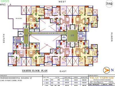 residential apartment, pune, nibm road, image