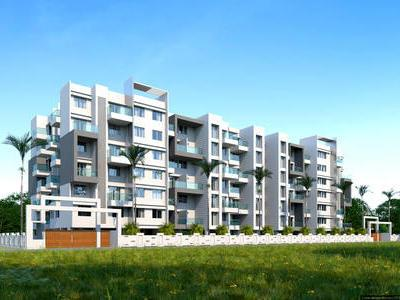 residential apartment, pune, tathawade, image