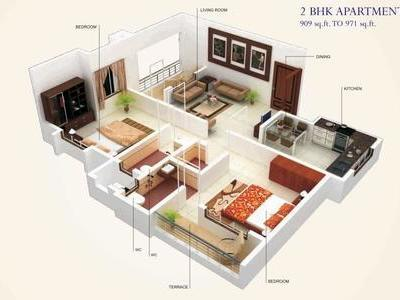 residential apartment, pune, shirwal, image
