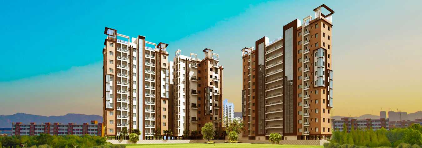 Rajwada Springfield in Kolkata. New Residential Projects for Buy in Kolkata hindustanproperty.com.