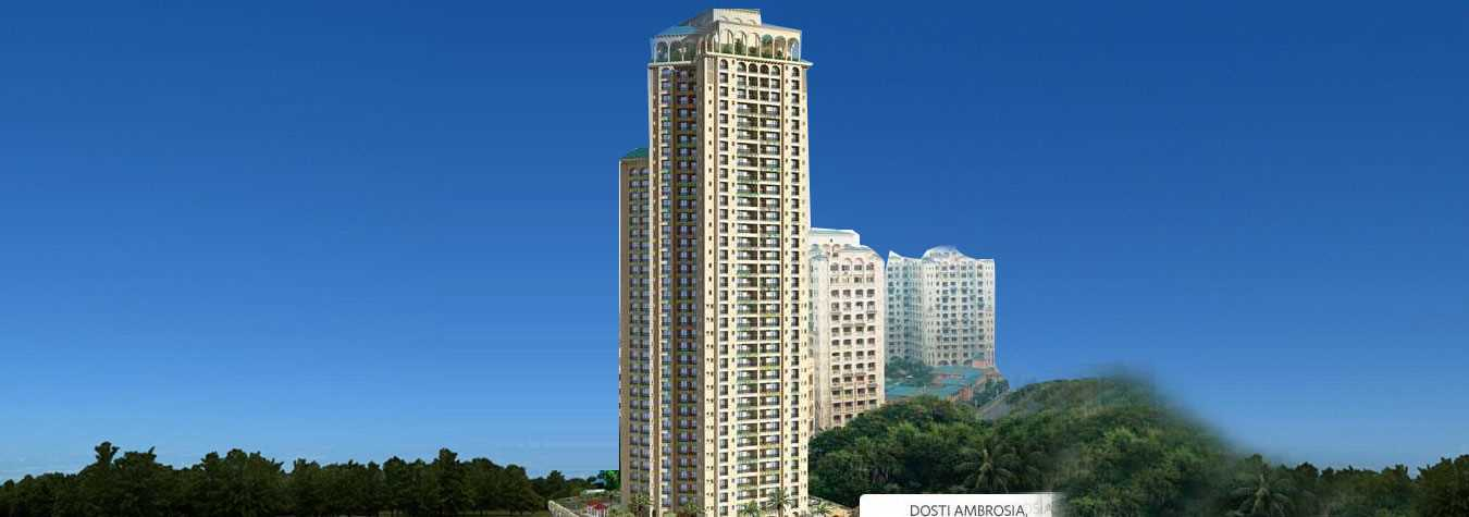 Dosti Ambrosia in Wadala East. New Residential Projects for Buy in Wadala East hindustanproperty.com.