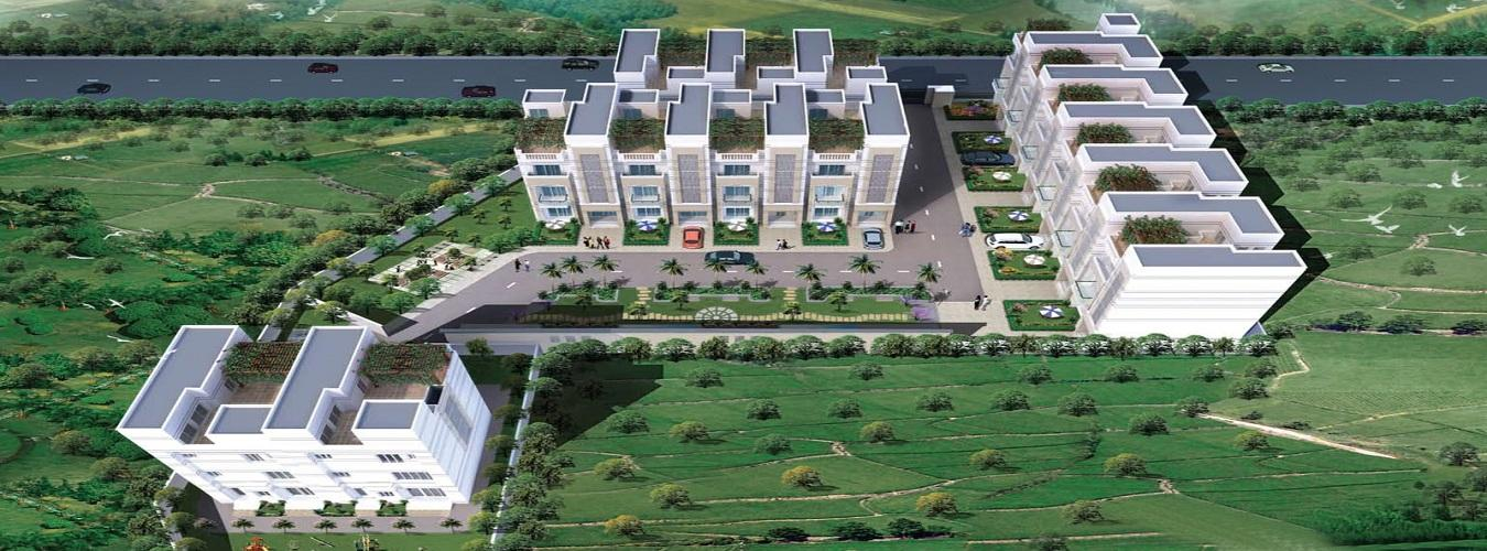 Shalimar Meadows in Butler Colony. New Residential Projects for Buy in Butler Colony hindustanproperty.com.