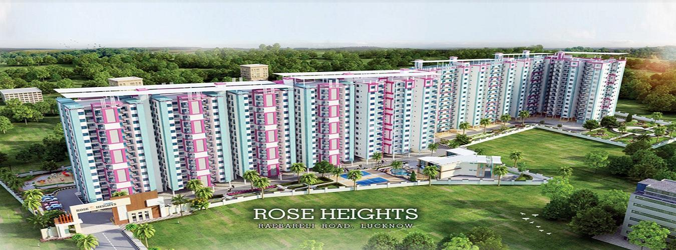 Kanchhal Rose Heights in Raebareli Road. New Residential Projects for Buy in Raebareli Road hindustanproperty.com.