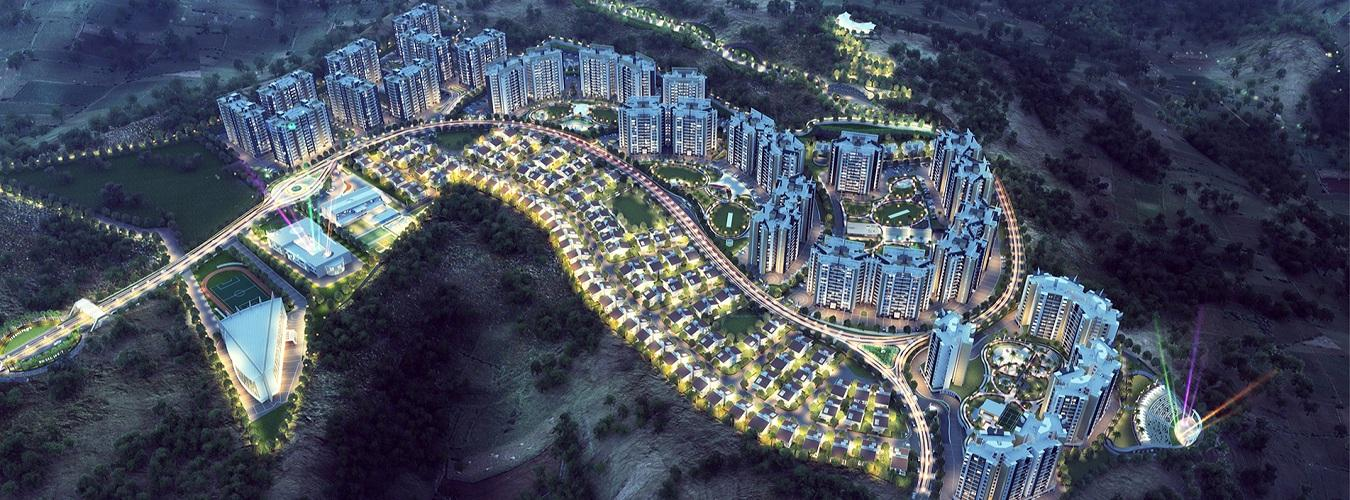115 Hill Town in Bhugaon. New Residential Projects for Buy in Bhugaon hindustanproperty.com.