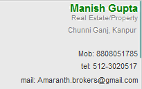 Manish Gupta in Kanpur. Property Dealer in Kanpur at hindustanproperty.com.
