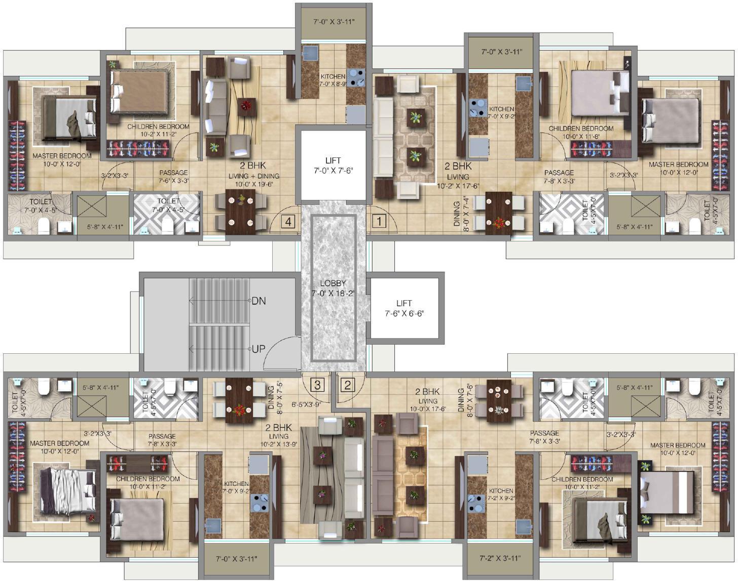 Paradigm Ananda Residency Borivali West Rates Brochure Images Video